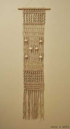 Macrame Wall Hanging by cspiteri on Etsy