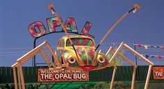 The Opal Bug at Coober Pedy