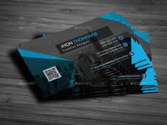 Business Card by OMEGAXYLO | GraphicRiver