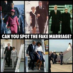 Can you spot the fake marriage?