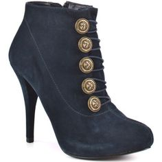 Guess Shoes Owens - Dark Blue Suede
