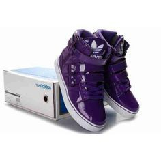 Purple adidas shoes for boys