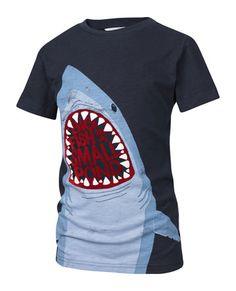 Shark T-Shirt by Mark Bijak Fishing Humor, Fishing T Shirts, Kids Graphics, Spring T Shirts, Shark T Shirt, Summer Boy, Fat Face, Summer Patterns, Boys T Shirts