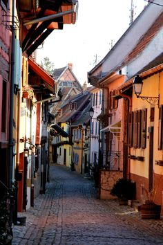 The beautiful streets of Eguisheim, France!
