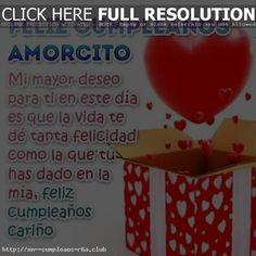 Saludos de cumpleaños Amor: aunque no estemos juntos Club, Dado, Cristiano, Happy Love, Happy Birthday Love, Love Of My Life, Birthday Greetings, Messages