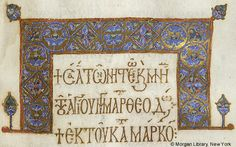 Lectionary, MS M.647 fol. 168r - Images from Medieval and Renaissance…