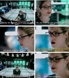 Felicity mocking Oliver is the best #TheFlash 2x08 #Arrow