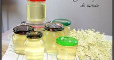Gelée de fleurs de sureau  Avec agar agar (a tester) Edible Wild Plants, Wild Edibles, No Cook Desserts, Charcuterie, Sweet Tooth, Good Food, Food And Drink, Mason Jars, Lorraine