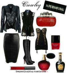 Crowley inspired look Casual Cosplay, Cosplay Outfits, Cosplay Ideas, Supernatural Cosplay, Supernatural Clothes, Crowley Supernatural, Supernatural Fashion, Supernatural Convention, Castiel