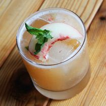 Craft this bright whisky cocktail with fresh ginger and peach adapted from Debbi Peek, director of mixology at Southern Wine & Spirits of Illinois. Mix it now!