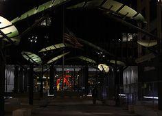 Chicago Nightscene: Under the Fronds