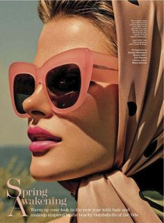 Vintage Sunglasses | parischiccouture.tumblr.com