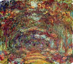 when Monet was going blind, he painted exactly what he saw. i did not know this. it makes me love him so much more. #Monet #blind #paint #artist
