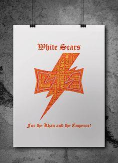 White Scars Warhammer 40K by ZsaMoDesign
