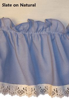 Madelyn Victorian Ruffled Priscilla Window Curtains with Lace Edging and Bow Tie Backs - Window Toppers Ruffle Curtains, Window Curtains, Priscilla Curtains, Window Toppers, Curtain Styles, Tie Backs, Victorian Fashion, Color Combinations, Lace Shorts