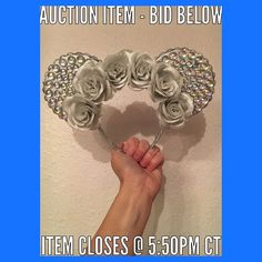For those who would like to bid on tonights ears please read the following guidelines/auction information:  Auction will begin at 2 PM CT (8/14)  All items will have a set shipping and handling cost of $5 domestic US  $15 (USD) international that is not included in the bidding price.  1. Bidding currency be USD.  2. Starting price for all items will be $10- meaning the lowest the first person can bid is $10 USD.  3. Only bids in whole dollar (USD) will be accepted i.e. each bid will increase…