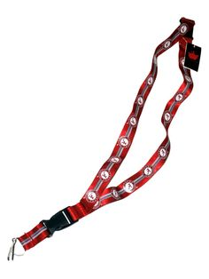 Alabama Crimson Tide Aminco Durable Material Buckle Lock Red Lanyard