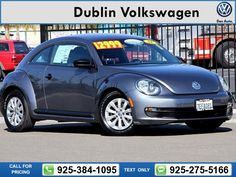 2014 Volkswagen Beetle 1.8T 39k miles Call for Price 39993 miles 925-384-1095 Transmission: Automatic  #Volkswagen #Beetle #used #cars #DublinVolkswagen #Dublin #CA #tapcars