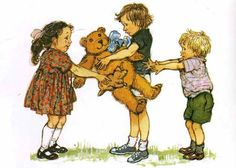 "Bella becomes her little brother's hero when she figures out a way to get back his stuffed animal, ""Dogger"". DOGGER , by Shirley Hughe. Shirley Hughes, Friendship Stories, Children's Book Illustration, Book Illustrations, Children Sketch, Little Brothers, Vintage Artwork, Classic Books, Vintage Children"