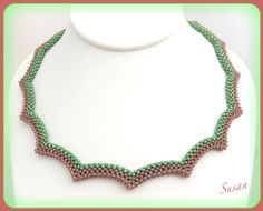 NO PATTERN -- RAW necklace