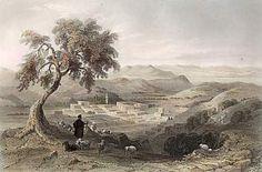 Nazareth, olhando para a planície de Esdraclon