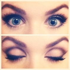 Look created using Too Faced Boudoir Eyes - top three (day) colors. One of my favorite palettes.