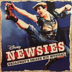 Tile - Newsies On Tour (Blue)