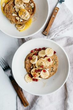 super seed power pancakes (gf + v) | dolly and oatmeal