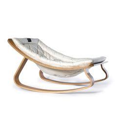 Baby Rocker LEVO / Gentle White Cushion - Charlie Crane Baby Furniture