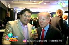 Entrevista A Don Pepin Corripio En Pégate Y Gana Con El Pacha