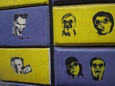 """""""Domino Stars"""" - Street Art"""