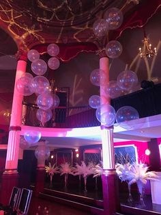 2016 Gatsby Party at salle Wagram ©Balloon Event Paris www.bullescocnept.com