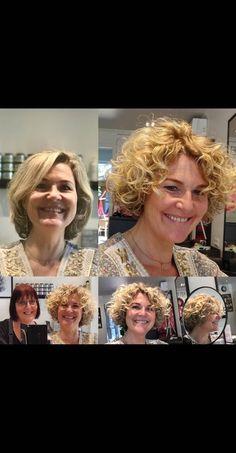 De prachtige krullenbos van Marie Louise,... Ik had zo graag zelf krullen willen hebben... dit is toch zo bijzonder mooi 😍... I LOVE CURLS Popular Pins, Wasting Time, In The Heights, Curls, My Love, Hair Styles, Hair Plait Styles, Hairdos, Haircut Styles