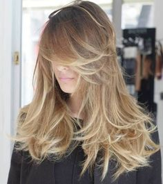 Layered Messy Hairstyle For Long Hair