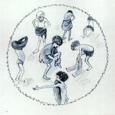 zwemles illustratie Maaike Putman