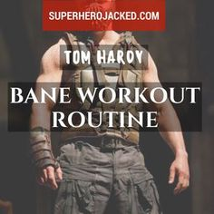 BONUS: I think by now we've all seen Tom Hardy in both Warrior and The Dark Knight Rises. Oh, and Bane breaking our backs in the article on sleep! Right? Am I right? Well, if not, you're in for a treat. Hardy started as a jacked but ripped up MMA fighter in the movie Warrior - and transformed…