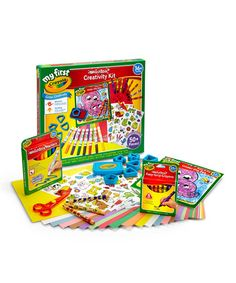 This Washable Creativity Kit is perfect! #zulilyfinds