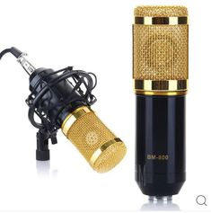 Excelvan Condenser Microphone Cardioid Pro Audio Studio Vocal Recording Mic with Shock Mount (Black) Audio Studio, Sound Studio, Smartwatch, Karaoke, Minis, Sony, Recording Equipment, Creative Labs, Online Shopping