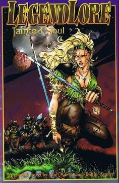 Legendlore: Tainted Soul collects the first four issues of a 17-issue run I wrote for Caliber. Every issue was lovingly illustrated by the amazing Philippe Xavier.    http://conquistador-xavier.blogspot.com/p/auteurs.html