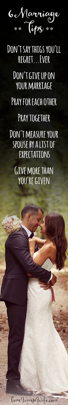 6 Marriage Tips