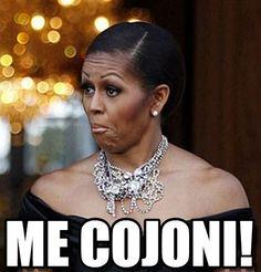 me cojoni!. Michelle Obama meme - Vota, condividi, discuti e visualizza meme simili