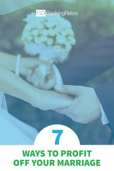 Here are seven financial reasons why you should get married.