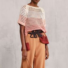 See by Chloé Spring 2018  #kt_womens #kt_pullovers #kt_pink  #kt_multicolor