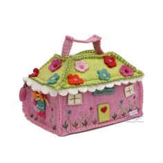 felt house bag