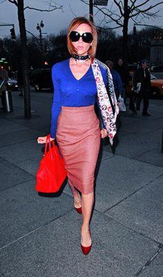 Victoria Beckham... love her style!