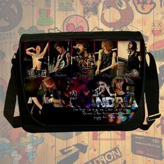 NEW HOT!!! Asking Alexandria Messenger Bag, Laptop Bag, School Bag, Sling Bag for Gifts & Fans #03