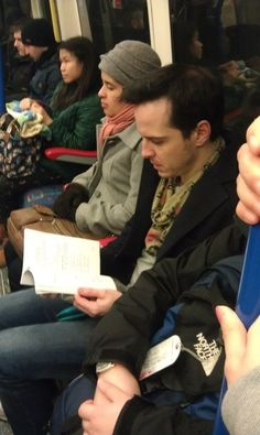 Moriarty is real - and he rides the tube