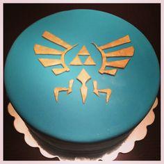 Legend of Zelda birthday cake. Playroom Dessert