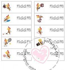 naamkaartjes zoem schrijfschrift