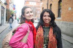 #ireland #dublin #thetemplebar #square #brazilianfriend